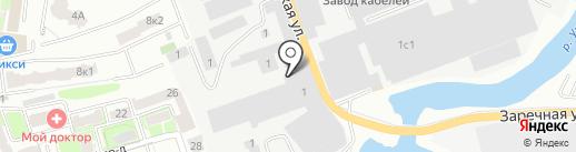 СТО на карте Ивантеевки