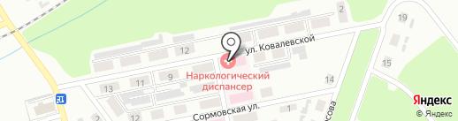 Городской наркологический диспансер г. Макеевки на карте Макеевки