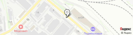 Люберчанка на карте Люберец