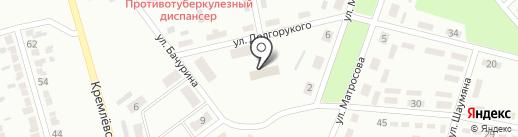 Свято-Ильинский храм на карте Макеевки