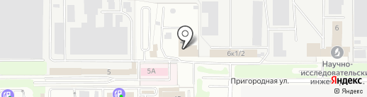 1-й отряд ФПС по Московской области на карте Балашихи