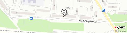 Бэмби на карте Ивантеевки