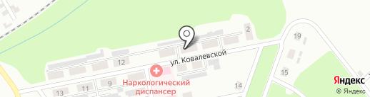 Продовольственный магазин на ул. Софьи Ковалевской на карте Макеевки