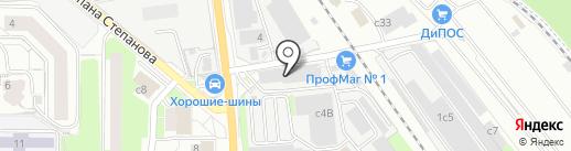 САНТРИ на карте Лыткарино