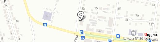 Ясна на карте Макеевки