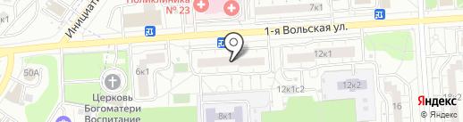 Дом ЭСТЕЙТ на карте Некрасовки
