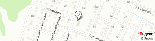 Кировец на карте Макеевки