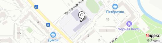 Средняя общеобразовательная школа №1 на карте Ивантеевки