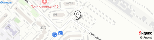 Пик-паркинг на карте Люберец