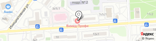 ВиМед Профи на карте Некрасовки