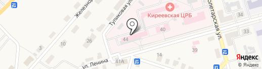 Киреевская центральная районная больница на карте Киреевска