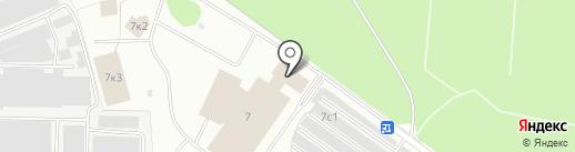 Автоколонна №1377 на карте Балашихи