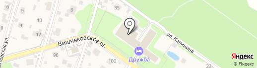 Экспотон на карте Балашихи