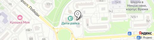 Palazzo на карте Некрасовки