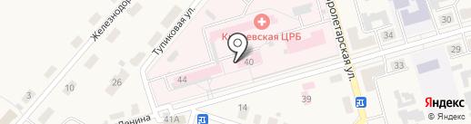 Тульская областная стоматологическая поликлиника на карте Киреевска