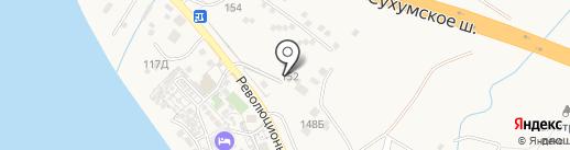 Арена на карте Геленджика