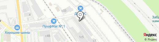 Дипос на карте Лыткарино