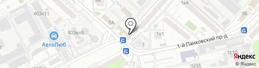 КАСВИК на карте Люберец