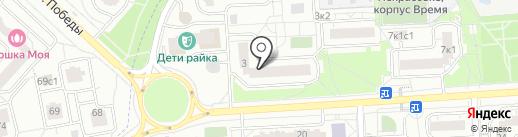 Каприз на карте Некрасовки