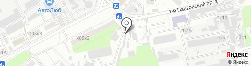 Автолюбер на карте Люберец