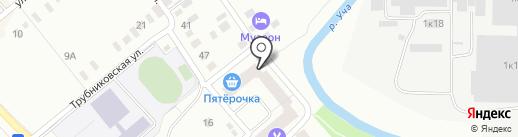 Апельсин на карте Ивантеевки