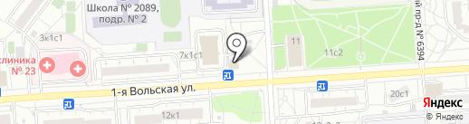СВ Плюс на карте Некрасовки