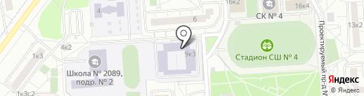 Спортивная секция таэквон-до на карте Некрасовки