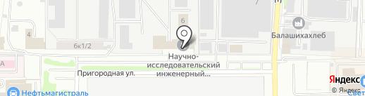 Glushiteli №1 на карте Балашихи