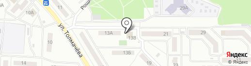 Наш карандаш на карте Ивантеевки