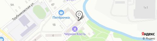 Бристоль на карте Ивантеевки