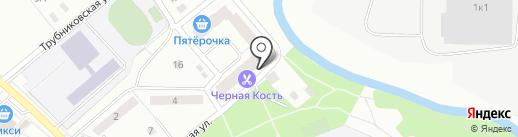 Мамонтенок на карте Ивантеевки