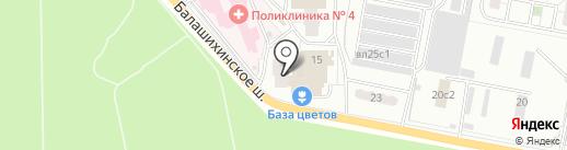 РЕСО-Мед на карте Балашихи