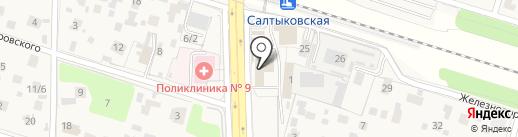Почтовое отделение №143930 на карте Балашихи