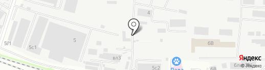 Компания на карте Люберец