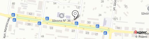 Теремок на карте Макеевки