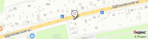 Авто-Локер на карте Балашихи
