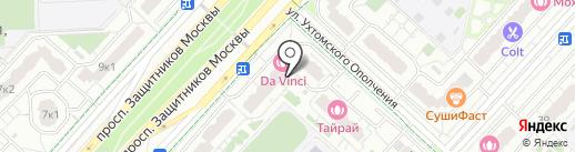 Caramelica на карте Москвы