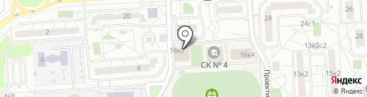 Спортивная школа №4 на карте Некрасовки
