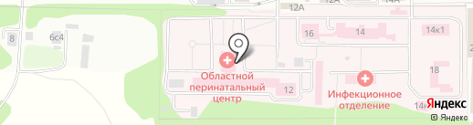 Московский Областной Перинатальный Центр на карте Балашихи