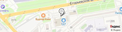 Рублёвский на карте Томилино