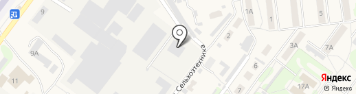 Киреевский насосный завод на карте Киреевска