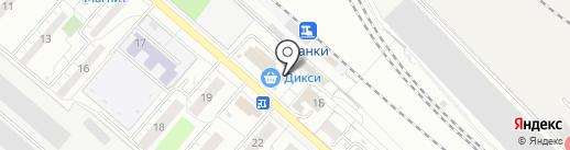 Магазин фастфудной продукции на карте Люберец