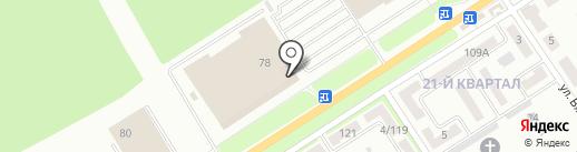 Леди О на карте Макеевки