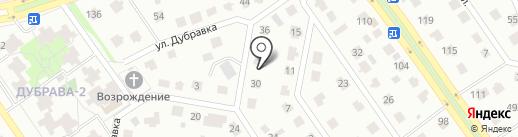 Авто-Во на карте Старого Оскола