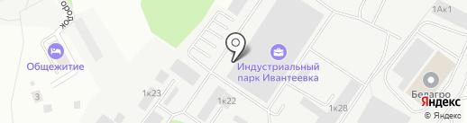 Рабочие Машины на карте Ивантеевки