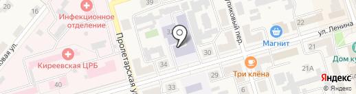 Киреевский центр образования №1 на карте Киреевска