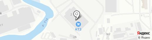 Королёвский Трубный Завод на карте Ивантеевки