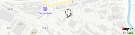 Сталь-Про на карте Ивантеевки