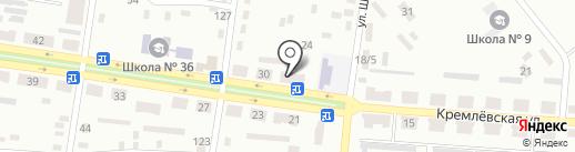 Фишка на карте Макеевки