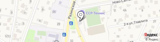 ССР-Теннис на карте Балашихи